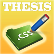 Thesis 2.0 Tutorials Part 3 – The CSS Editor