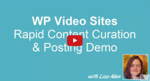 How to Use WP Video Sites Mass Posting Feature to Stuff Your Blog With Targeted Content in Minutes